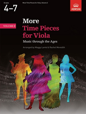 More Time Pieces: Vol 2: Viola & Piano (ABRSM)