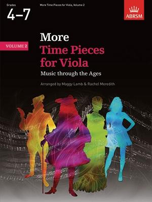 More Time Pieces: Vol 2: Viola & Piano (ABRSM)