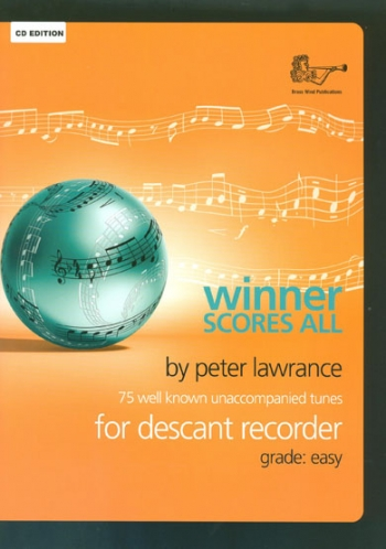 Winner Scores All: Descant Recorder Book & CD