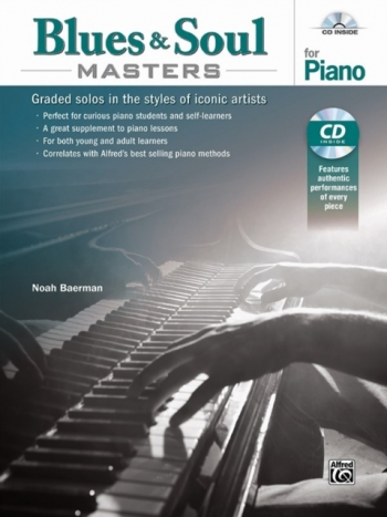 Blues & Soul Masters For Piano Book & Cd (Baerman)