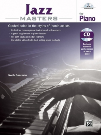 Jazz Masters For Piano Book & Cd (Baerman)