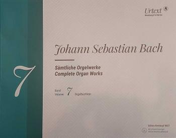 Complete Organ Works Vol.7 Orgelbuchlein Book & CD (Breitkopf)