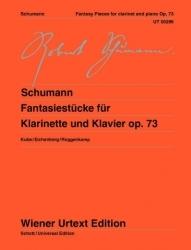 Fantasiestucke Op73 Clarinet & Piano   (Wiener Urtext)