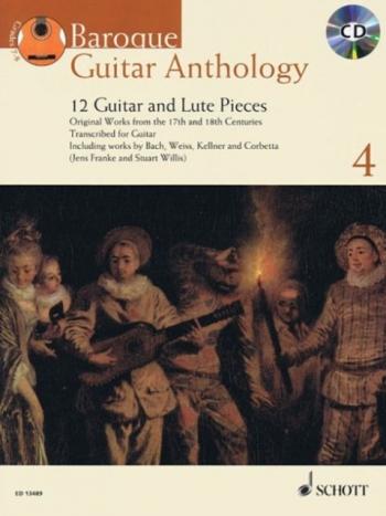 Baroque Guitar Anthology: Vol 4: Grades 7 -8: Book & Cd (Schott)