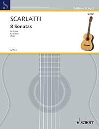 8 Sonatas: Guitar (Schott)