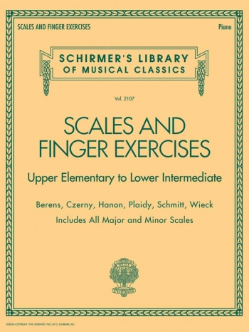 Scales And Finger Exercises – Upper Elementary To Lower Intermediate Piano