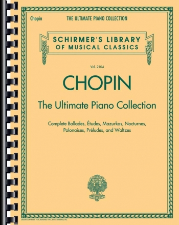 The Ultimate Piano Collection Piano Solo (Schirmer)