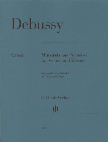 Minstrels From Prelude No 1 Violin & Piano (Henle)