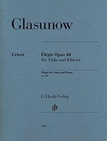 Elegie: Op44: Viola & Piano