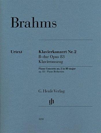 Piano Concerto Bb Major No.2 Op.83 Edition For 2 Pianos (Henle)