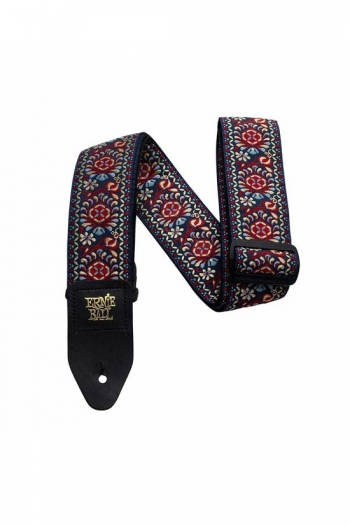Guitar Strap Ernie Ball Jacquard Strap Royal Bloom