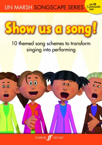 Show Us A Song! 10 Themed Songs Book & Cd Songscape Series (Lin Marsh)