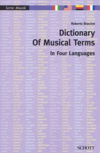 Dictionary Of Musical Terms In Four Languages (Schott)