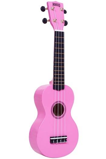 Mahalo Rainbow Soprano Ukulele Mahalo Pink