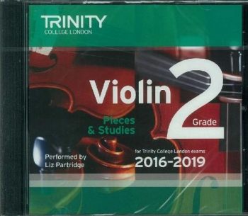 Trinity College London Violin Grade 2 Violin CD Only 2016-2019