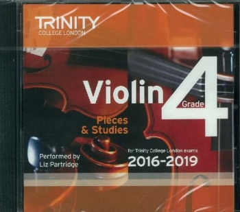 Trinity College London Violin Grade 4 Violin CD Only 2016-2019