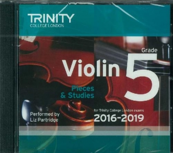 Trinity College London Violin Grade 5 Violin CD Only 2016-2019