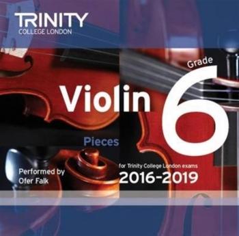 Trinity College London Violin Grade 6 Violin CD Only 2016-2019