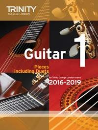 Trinity College London Guitar Exam Pieces: Grade 1: 2016-2019
