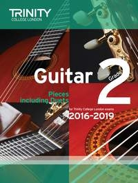 Trinity College London Guitar Exam Pieces Grade 2 2016-2019