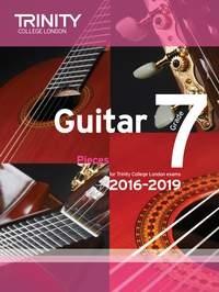 Trinity College London Guitar Exam Pieces Grade 7 2016-2019