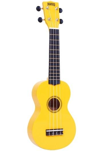 Mahalo Rainbow Soprano Ukulele Mahalo Yellow