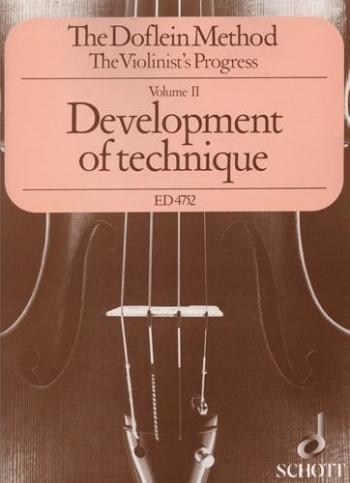 Doflein Method Violin Vol.2 Development Of Technique Within The First Position