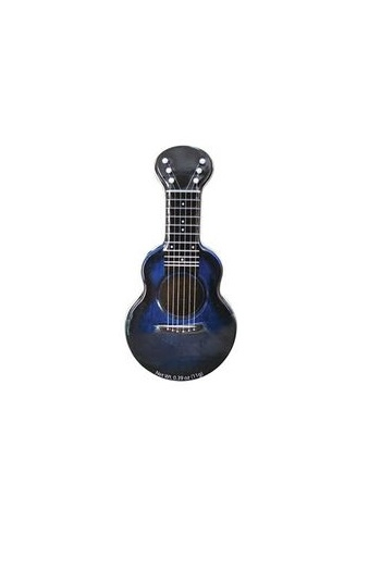 Sugar Free Mints - Acoutic Guitar Shaped Tin  - Blue