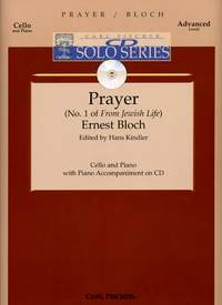 Prayer No 1 From Jewish Life Cello & Piano Book & CD (currier)(Fischer)