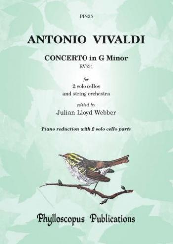 Concerto In G Minor: Rv531: Cello Duet (Lloyd Webber)