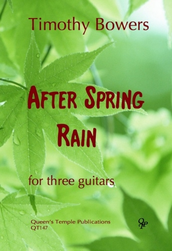 After Spring Rain: 3 Guitars