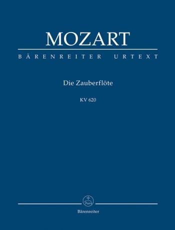 Die Zauberflote KV620: Magic Flute Opera: Miniature Score (Barenreiter)