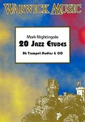 20 Jazz Etudes Trombone Treble Clef: Book & Cd (nightingale)