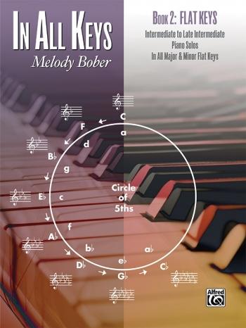 In All Keys Book 2 Flat Keys Piano Solos (melody Bober) (Alfred)