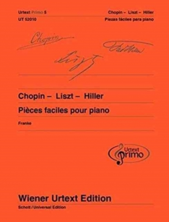 Easy Piano Pieces With Practising Tips - Chopin/Liszt/Hiller Urtext Primo 5