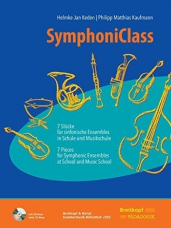 7 Pieces For Symphonic Ensembles At School And Music School  Score & Cd Rom