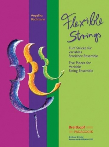 Strings Today: Five Pieces For String Ensemble Score & Cd Rom