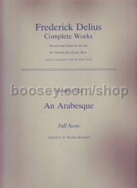 An Arabesque Full Score (Ed Beecham)