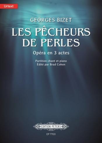 Les Pecheurs De Perles: Opera In 3 Acts Vocal Score (Peters)