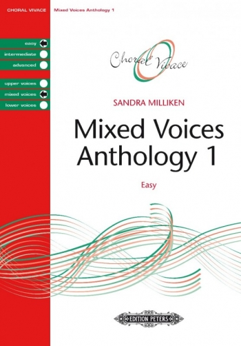 Mixed Voices Anthology 1 Easy (Sandra Milliken) (Peters)