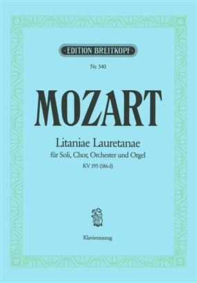 Litaniae Lauretanae  BMV: KV195: Vocal Score (Breitkopf)