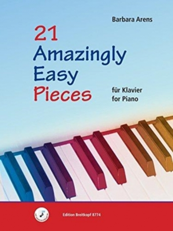 21 Amazingly Easy Pieces For Piano (Arens)
