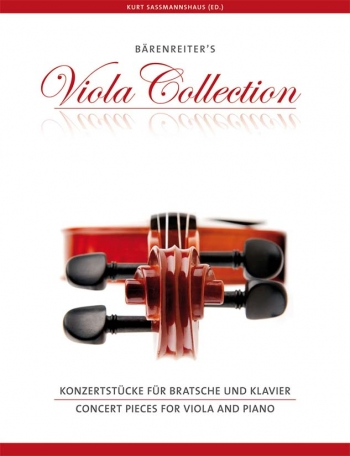 Barenreiters Viola Collection: Concert Pieces For Viola & Piano (Sassmannshaus)