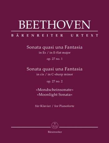 Piano Sonata C# Minor Op.27/2 (Moonlight) Quasi Una Fantasis (Barenreiter)