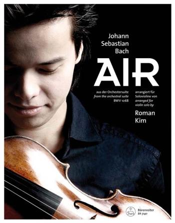 Air Arranged For Violin Solo By Roman Kim  (Barenreiter)