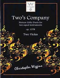 Two's Company: 16 Little Duets: Op157B: Two''s Company: 16 Little Duets: Op157B: 2 Viola (Wiggins)