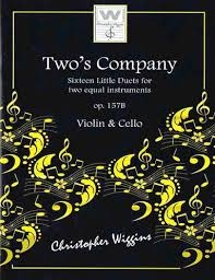 Two's Company: 16 Little Duets: Op157B: Violin & Cello