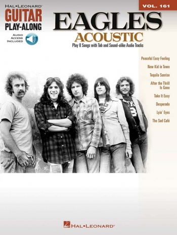 Guitar Play Along Series: Vol 161: Eagles: Guitar & Guitar Tab: Book & CD