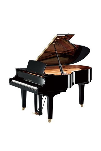 Grand Piano: Yamaha C3X: Polished Ebony