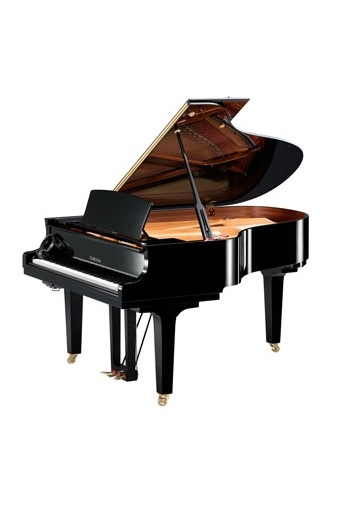Silent Grand Piano: Yamaha C3XSH: Polished Ebony